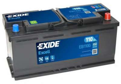 Exide EXCELL 110Ah 850 оп EB1100